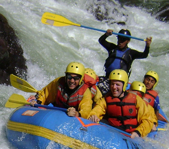 Rafting-Chuquicahuana Section Full Day-Class 2-3